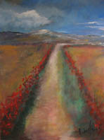 Beatrix AGIUS - Custom paintings - Country road - Provence landscape